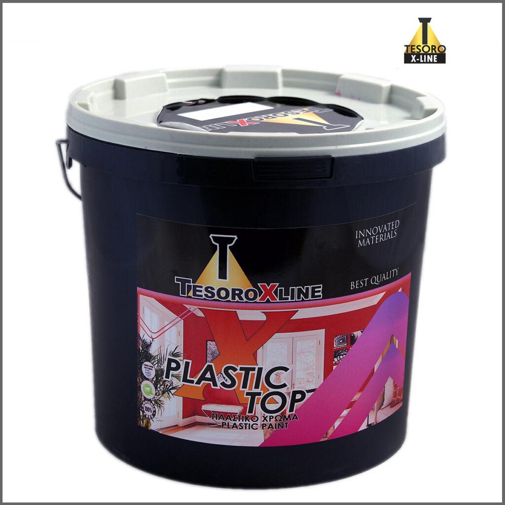 Πλαστικό χρώμα Tesoro